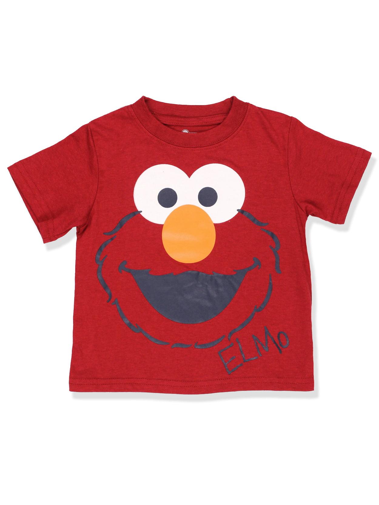 Sesame Street Elmo Boys Short Sleeve Tee (Baby/Toddler) 6SE4718