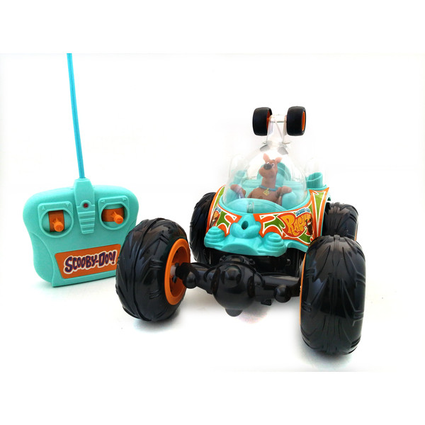 Remote Control Scooby Doo Cyclone Tumbler RC Stunt Vehicle