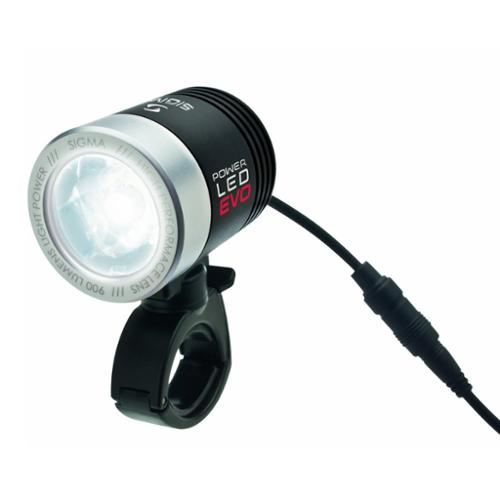 Sigma PowerLED Pro K-Set High Powered Rechargeable Front Bicycle Light 900 Lumen