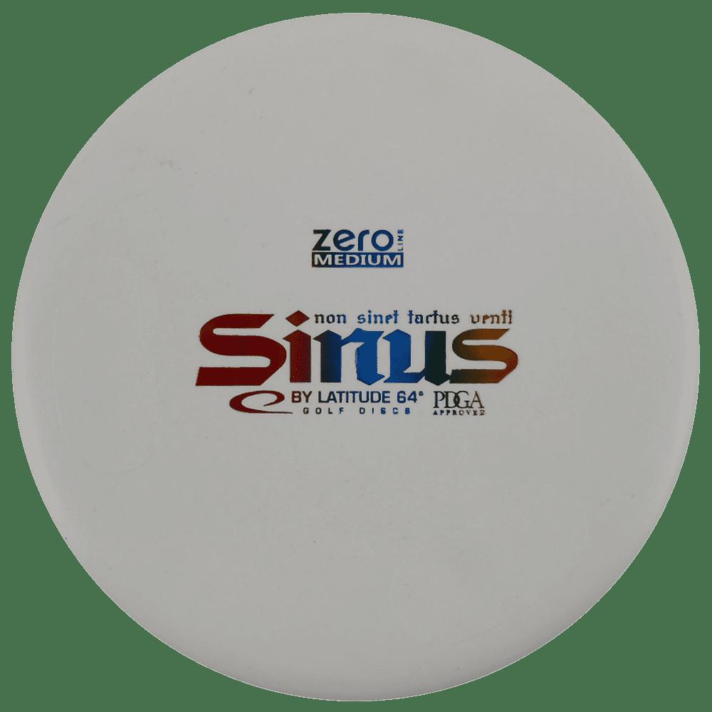 Latitude 64 Zero Medium Sinus 173-176g Putter Golf Disc [Colors may vary] - 173-176g