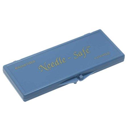 Needle-Safe Magnetized Needle Case, Rectangle 4.5x1.75 Inches, 1 Case