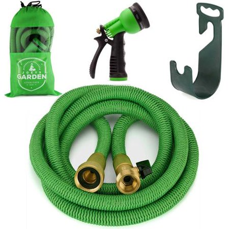 Expandable garden hose set 100 feet by joeys garden Expandable garden hose 100 ft