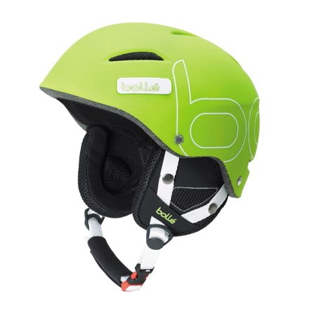 Bolle Winter B-Style Soft Green 58-61cm 30534 Ski Helmet Click-to-Fit ()