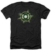 Green Lantern Green Glow Mens Heather Shirt
