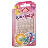 Kiss Products Pink Sticker Nails, 24 ea