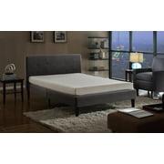 Mobilis High Density 6 inch Memory Foam High Quality Mattress, QUEEN