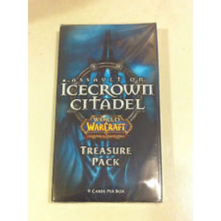 Wow World Of Warcraft Tcg Icecrown Citadel Factory Sealed Treasure (Warcraft Tcg Dark Portal)