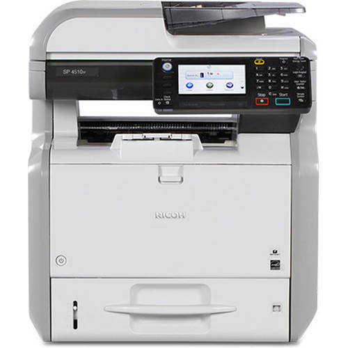 Ricoh Sp 4510sf Mono Led Multifunction Printer Copier Scanner Fax