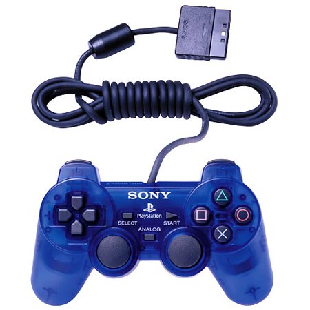 Sony Dualshock 2 Ps2 Controller  Blue Ps2