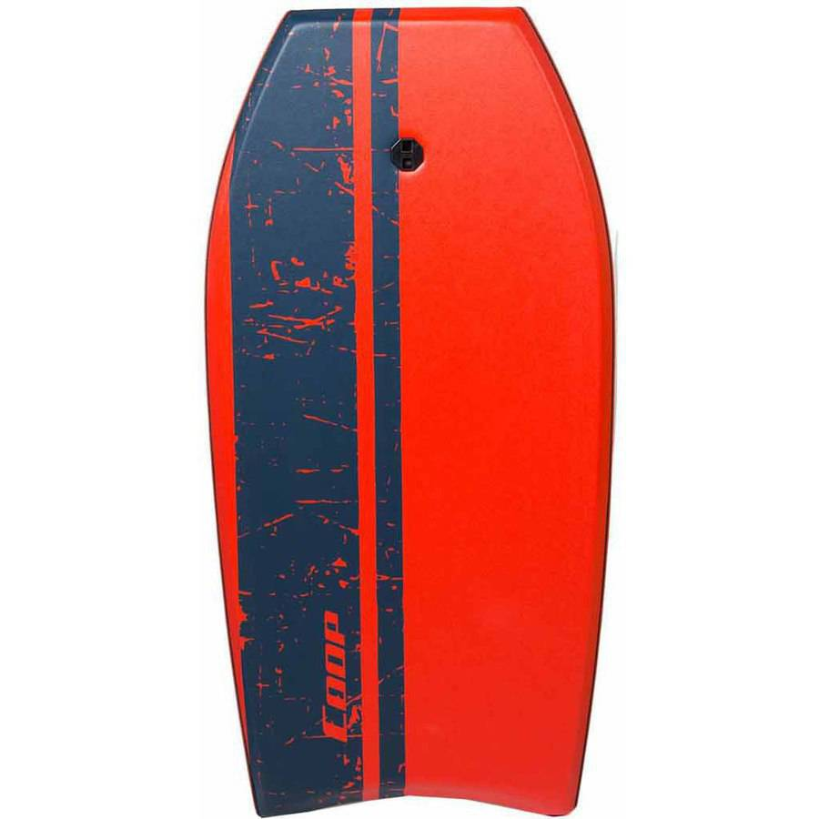 Super Pipe 41 Body Board, Red Stripe