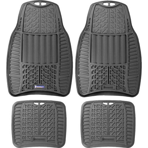 Michelin 4PC Rubber Mats, Gray