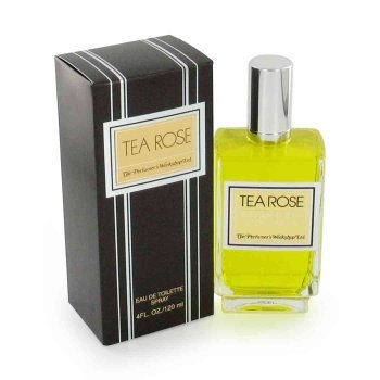 TEA ROSE by Perfumers Workshop Eau De Toilette Spray 4 oz for Women