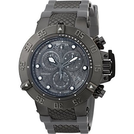 50mm Subaqua Noma III Swiss Made Quartz Chronograph Silicone Strap Watch - Zodiac Swiss Made
