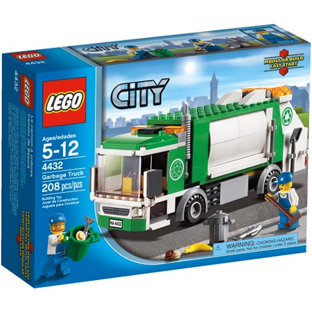 Lego City Town Garbage Truck Play Set Walmart