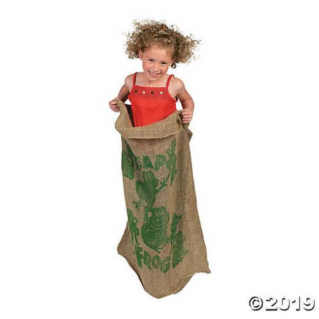 Leap Frog Potato Sack Race Bag](Bags For Sack Races)