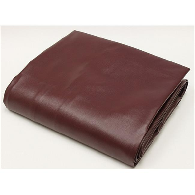 Hood Leather 55855 8A Wine Pool Table Cover