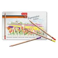 Bruynzeel Expression Colored Pencil Set, 36-Color