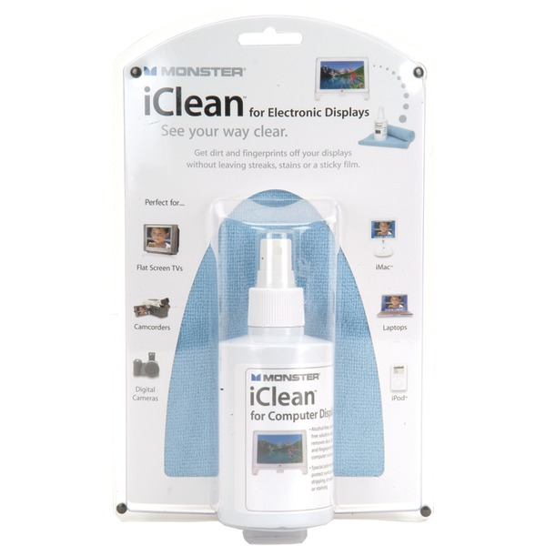 MONSTER AI ICLN-L iClean(R) Family-Size Screen Cleaner