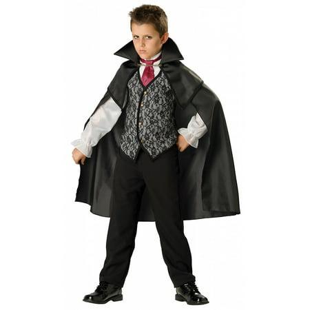 Midnight Vampire Costume (Midnight Vampire Child Costume -)