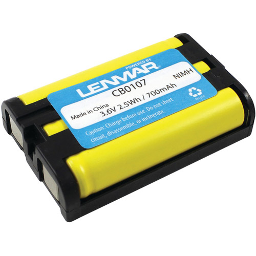 Lenmar CB0107 Panasonic HHR-P107 Replacement Battery