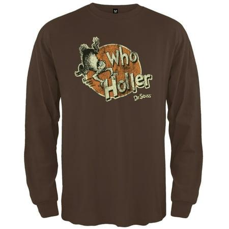 Dr. Seuss - Who Holler Long Sleeve T-Shirt