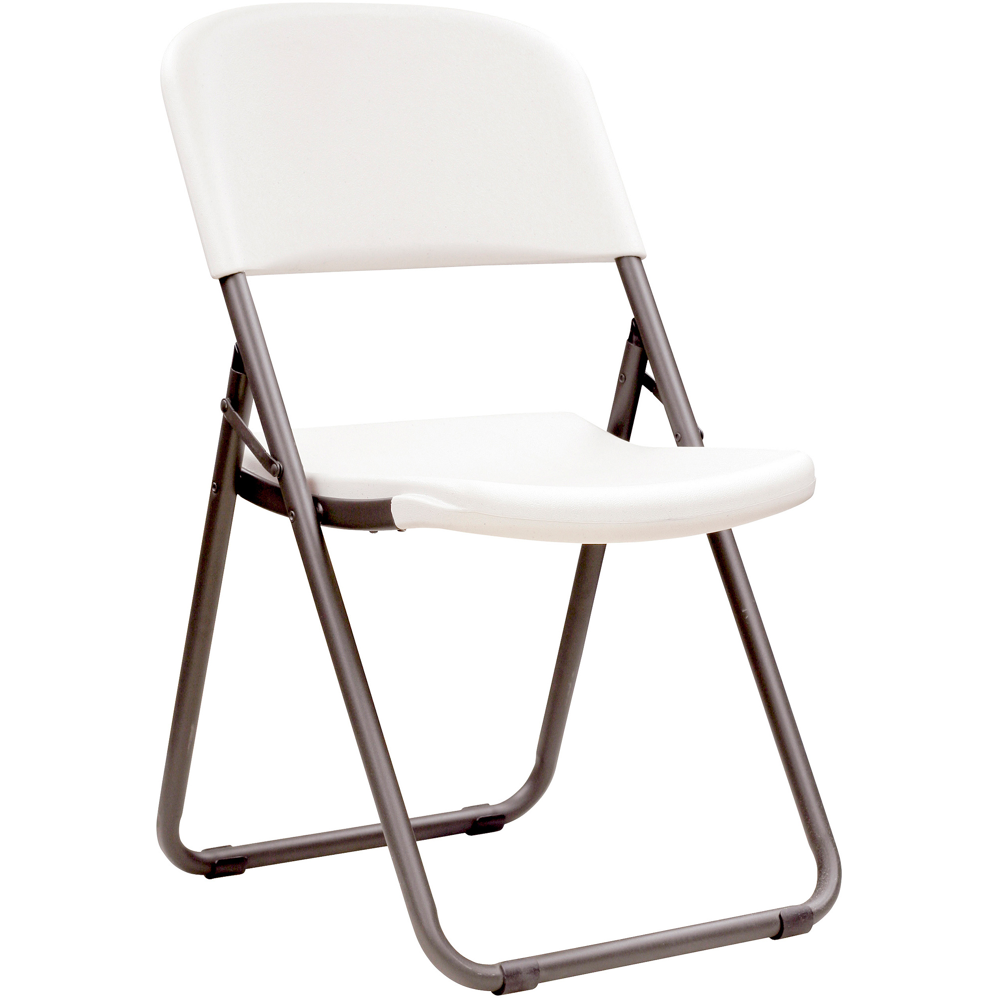 Lifetime Loop Leg Folding Chair, Set Of 4, White Granite, 80155    Walmart.com