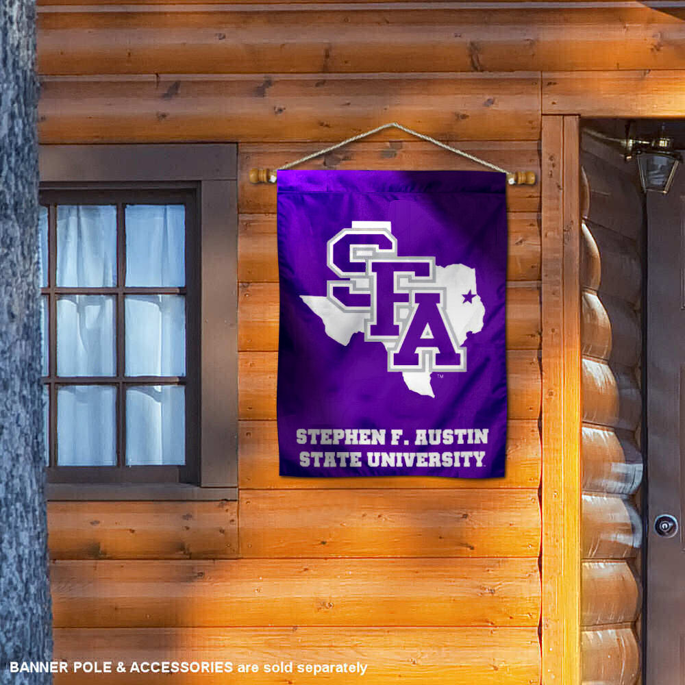 College Flags /& Banners Co SFA Lumberjacks Double Sided House Flag