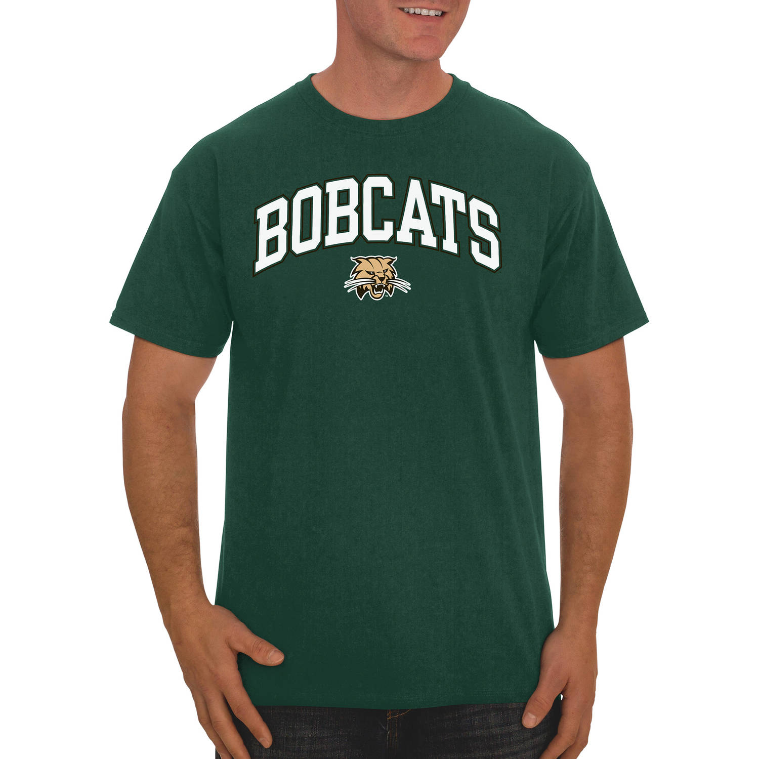 NCAA Ohio Bobcats Men's Classic Cotton T-Shirt