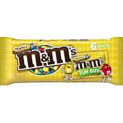 M&M'S Fun Size Peanut Chocolate Candies, 3.74 oz
