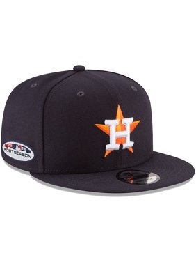 cheap for discount dc6a3 b8589 Product Image Houston Astros New Era 2018 Postseason Side Patch 9FIFTY  Adjustable Hat - Navy - OSFA