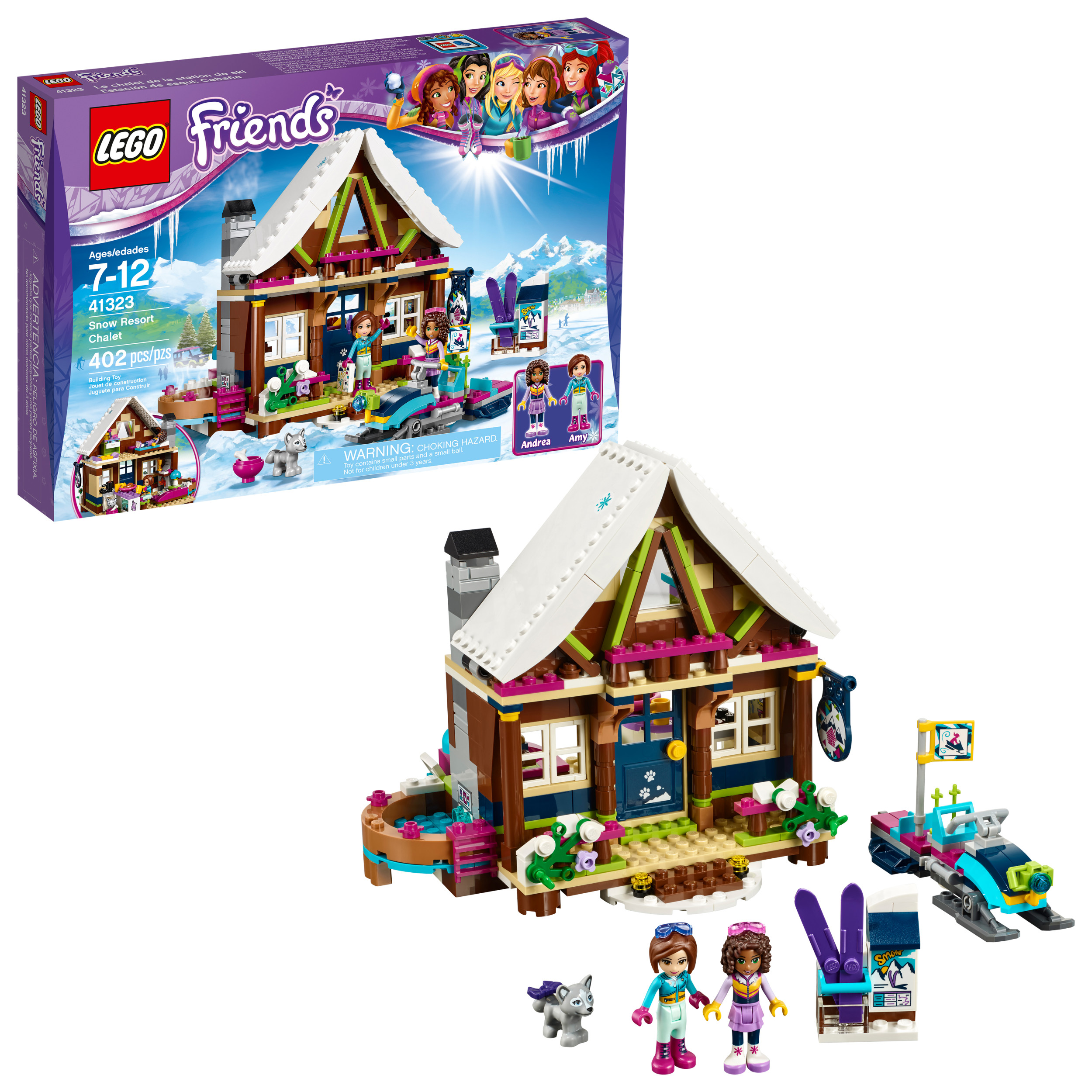 LEGO Friends Snow Resort Chalet 41323 (402 Pieces)