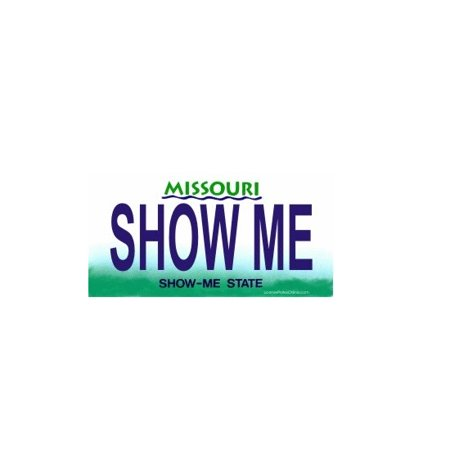Design It Yourself Custom Missouri Plate. Free Personalization on Plate - image 1 de 1