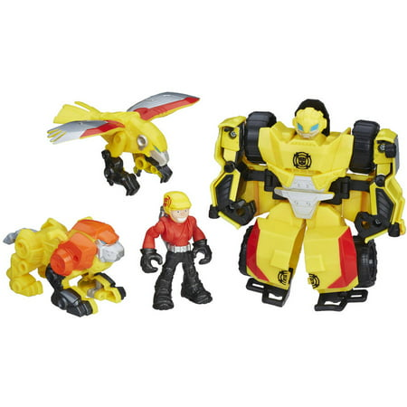 Playskool Heroes Transformers Rescue Bots Bumblebee Rock Rescue Team](Rescue Bot)
