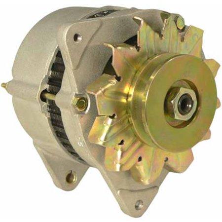 DB Electrical ALU0007 New Alternator for Ford New Holland Backhoe 455 455C  455D 555C 555D 575, Tractor 655 675 2600 2610, Massey Ferguson 383 Mf-383