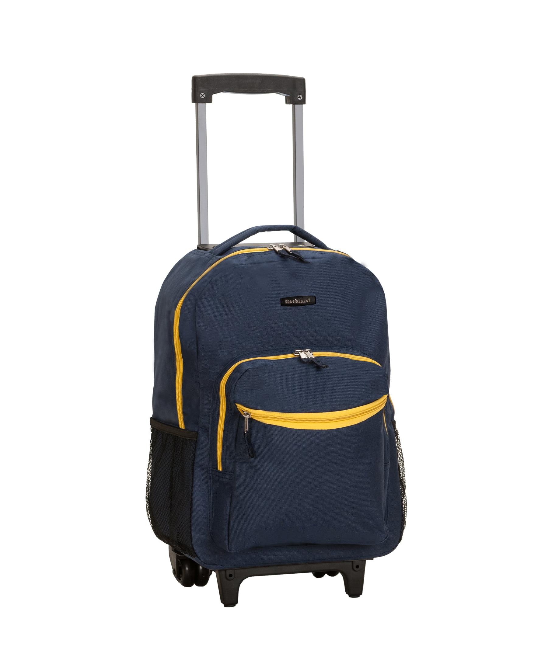 ca23a2c8755f Rockland - Rockland Luggage 17 Rolling Backpack - Walmart.com