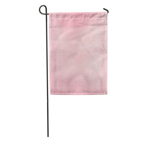KDAGR Abstract Empty Pink Organic Structure Top View Chalkboard Dust Garden Flag Decorative Flag House Banner 12x18