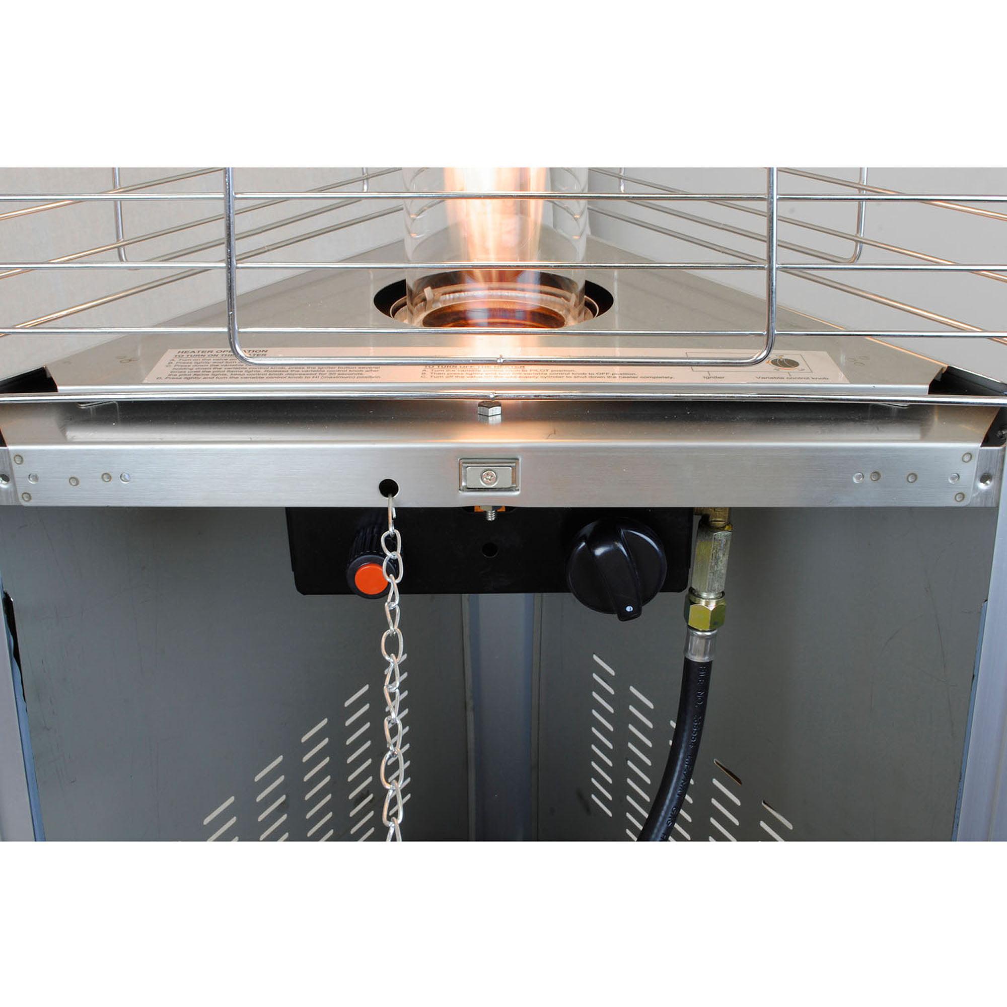 Lava Heat Lite KD Outdoor Heater Black LITEKD-HB-LP