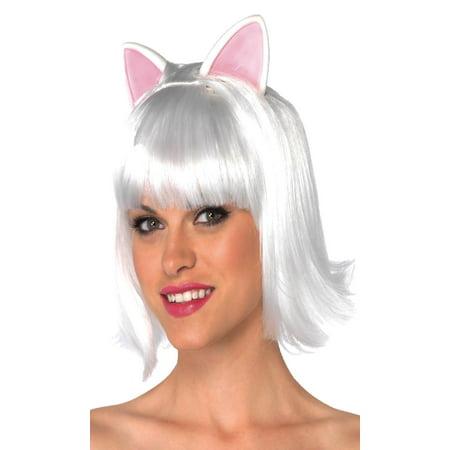 Wig Kitty Bob Adult Black - image 1 de 2