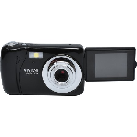 Vivitar ViviCam VXX14 HD Selfie Digital Camera Black Digital Blue Vivitar Vivicam