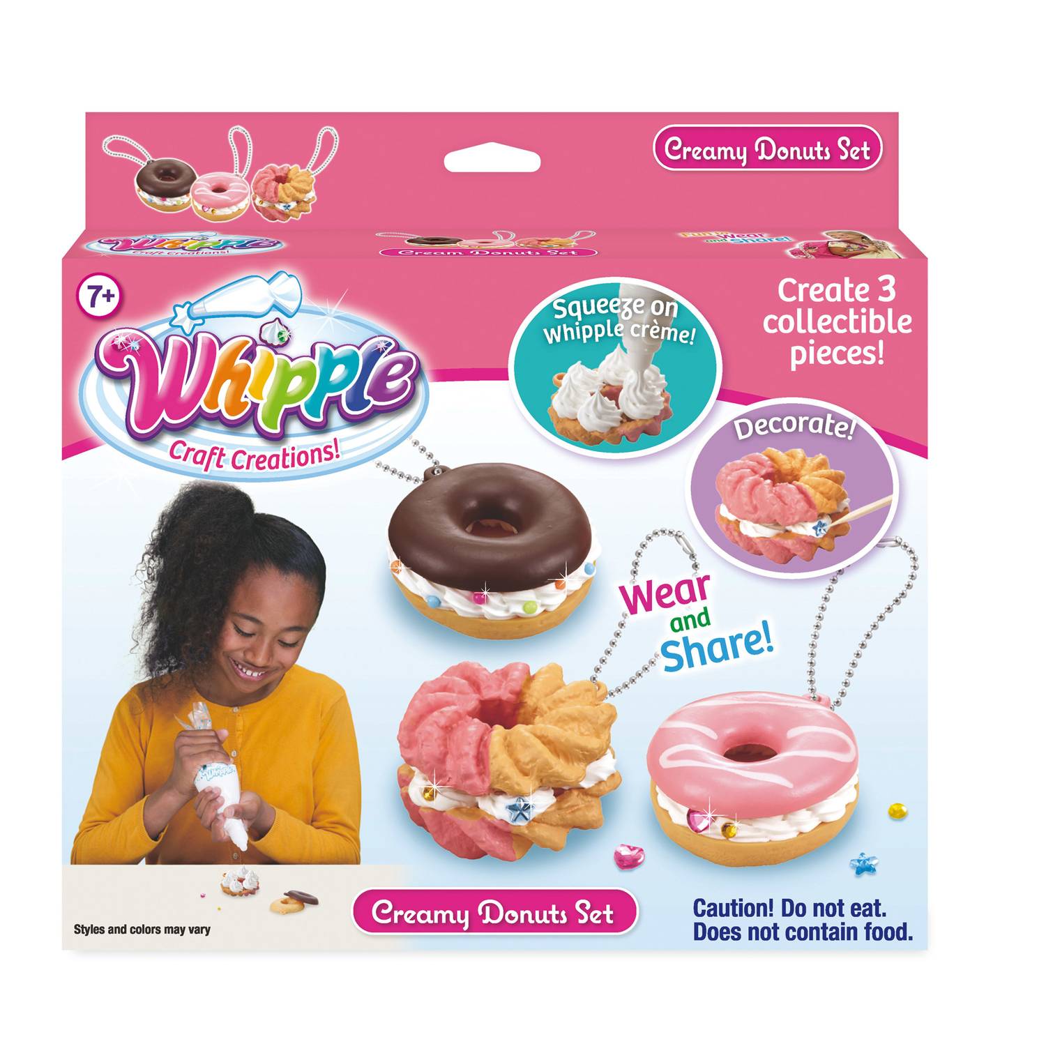 Whipple Creamy Donuts Decorating Set
