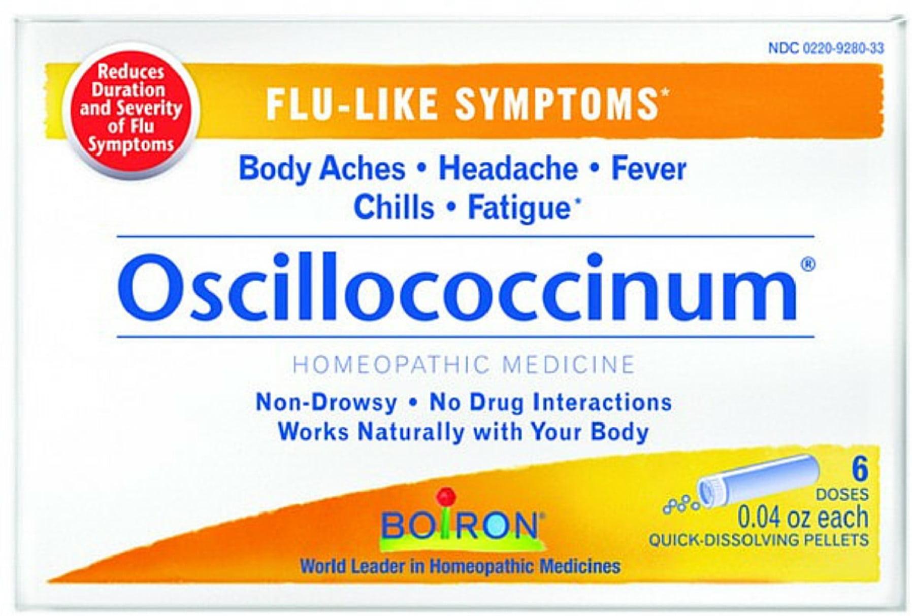 Oscillococcinum tamiflu and