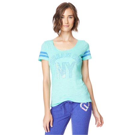 Aeropostale Juniors Dream Big Ny Graphic T-Shirt