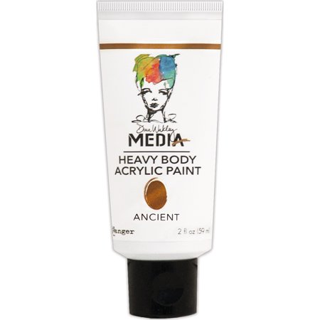 Dina Wakley Media Heavy Body Metallic Acrylic Paint  2Oz