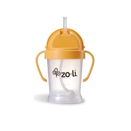 BOT Straw Sippy Cup 6 Ounce - Orange