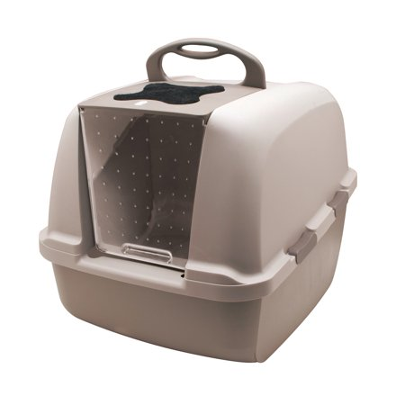 Catit Jumbo Cat Litter Pan, Grey