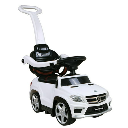 licensed mercedes benz gl63 amg pushing car w pushing bar mp3 usb sd