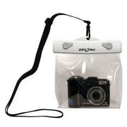 DRY PAK, Clear Camera Case, 6 x 5 x 1 1/2, White/Clear