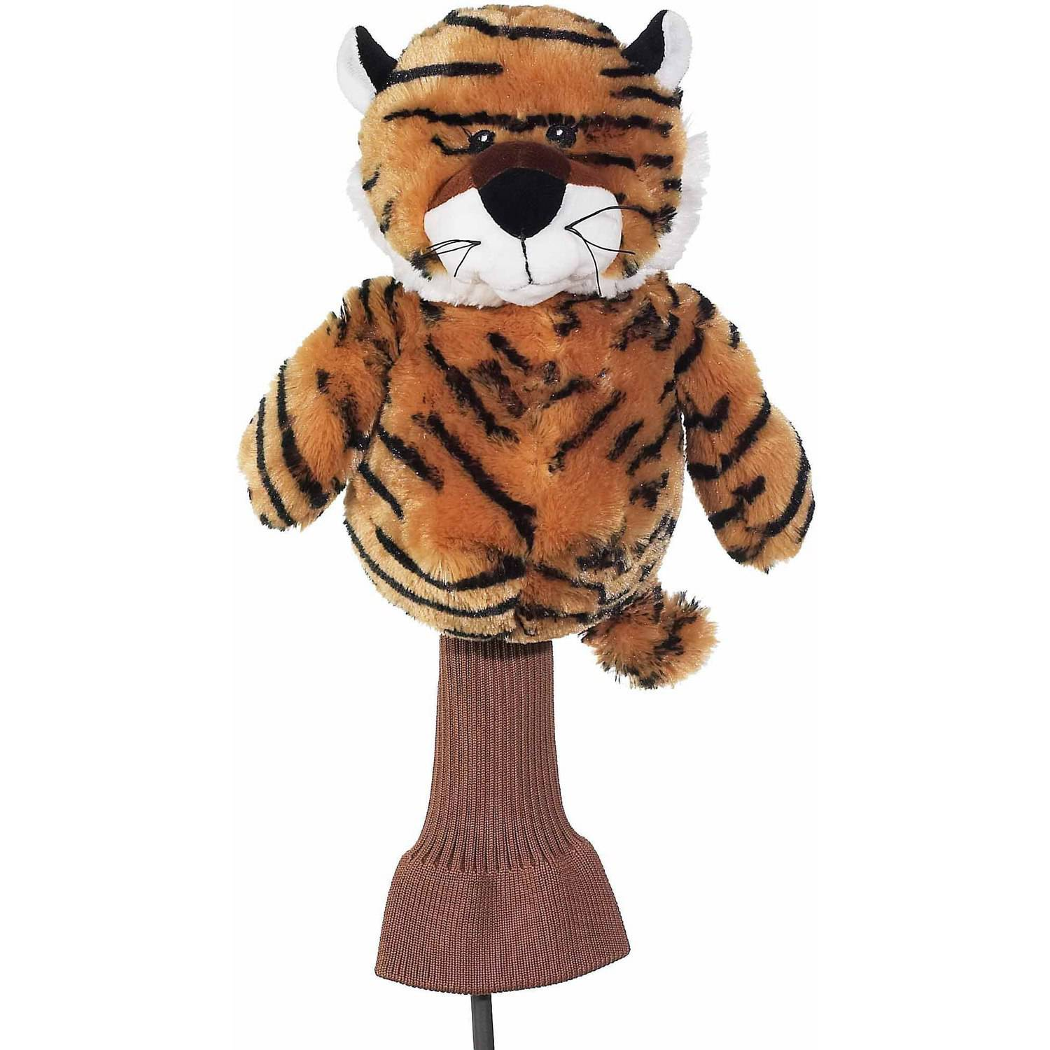 "Creative Covers For Golf Cuddle Pals ""Tiger"" In The Woods Driver Headcover"