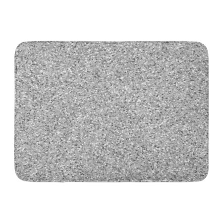 GODPOK Colorful Architecture Beige Sand Gray Marble Imitation Stone Granite Brown Abstract White Artificial Rug Doormat Bath Mat 23.6x15.7 (Granit Grey)