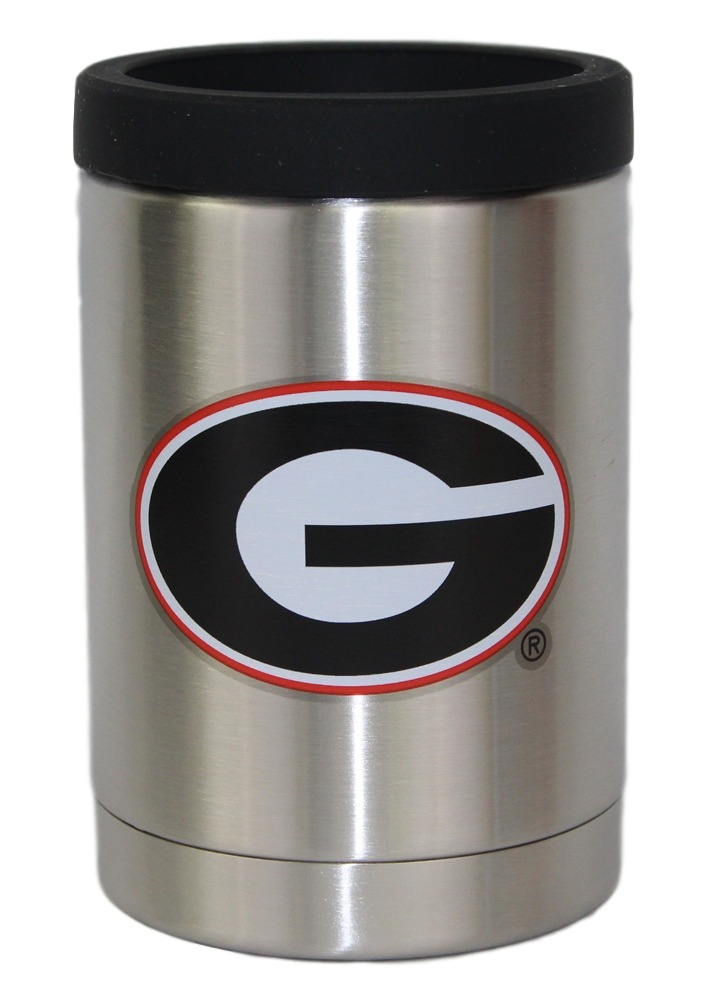 Georgia Bulldogs NCAA Stainless Steel Insulated 12oz Jacket with Seal by Gametime Sidekicks